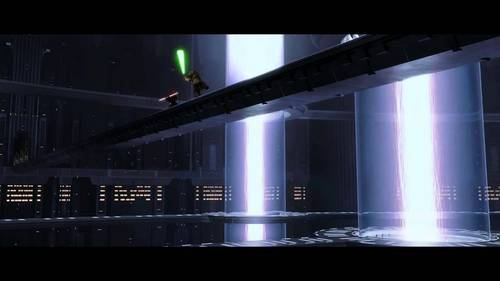 What was the purpose of that big hole in the ground in Episode I, where Darth Maul fought Obi-wan and Qui-Gon? And why was it defended by multiple laser doors?