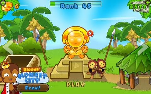 Can anyone play btd 5 co up with me through फेसबुक on phone I'm boeed😧
