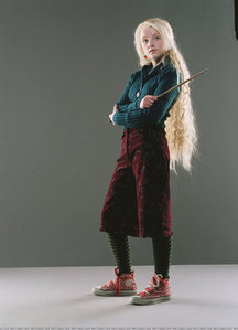 What was Evanna's best costume when portraying Luna Lovegood in the Harry Potter Movies?