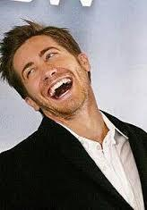 Post a picture of your actor laughing. .