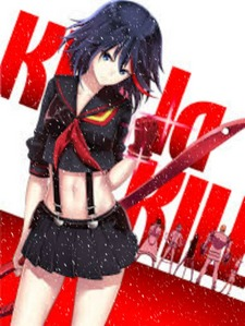 I wanna start watching Kill La Kill cause my best friend and another friend he got me vrienden with who lives in my best friend Eric Hall's neighborhood. They talk about Kill La Kill a lot. I don't know what that anime is about.
