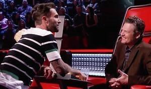 Does anyone know where to buy this sando Adam wore on The Voice. White with thick black striped, thin white stripes and green stipes on sleeves