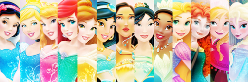 Hot Dog Disney Princesses