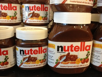 Ever had Nutella before?