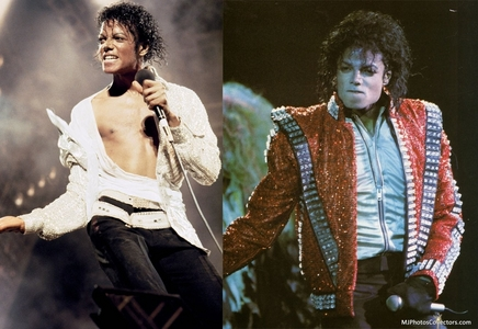 Does any of tu think that Thriller and Bad Era have a pretty good resemblance?