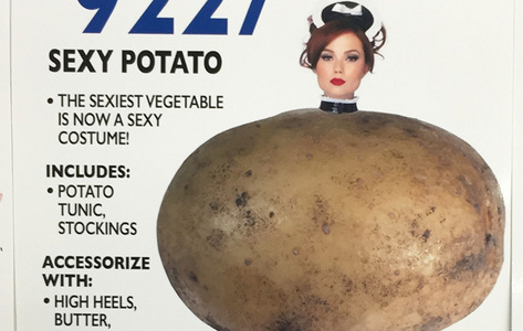 would 你 wear a sexy potato costume for 万圣节前夕 (its real seriously look if 你 dont believe me)