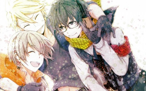 Have any of 你 watched Aoharu x Kikanjuu?