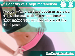 Does having a high metabolism makes 你 hungry all the time?