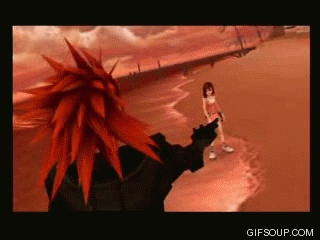 When did this happen in Kingdom Hearts?