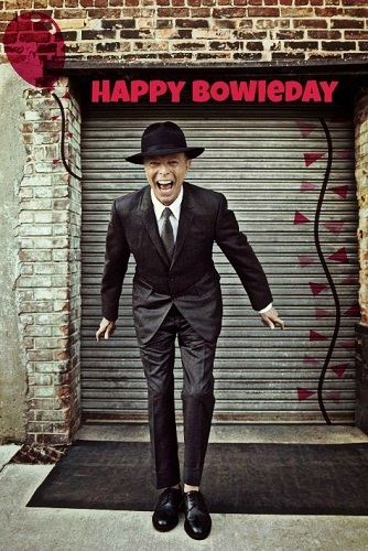 Happy Bowieday to Ты all! I'll pop in this evening to say hello