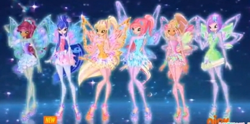 If the Winx Club have middle names, what would they be?