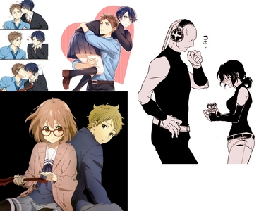 say three Anime oder Manga couples Du ship,and put some photo.