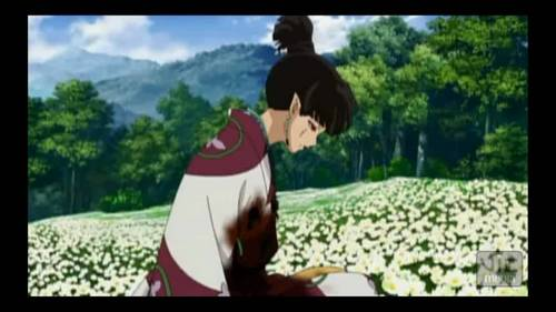 who was screaming at the tv-computer-mobile device when kagura died in the fleur garden? if toi havent seen till the final act then toi wont under stand