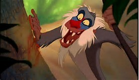 Am I the only one that rafiki is always high i mean really