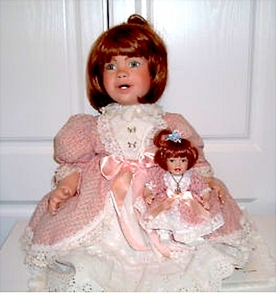 "Who has ""Little Debbie""? The Debbie Osmond toddler doll."