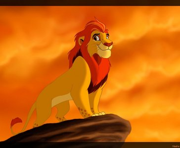 If we were to ever seen Kion as a young adult, who do anda think should voice him?.