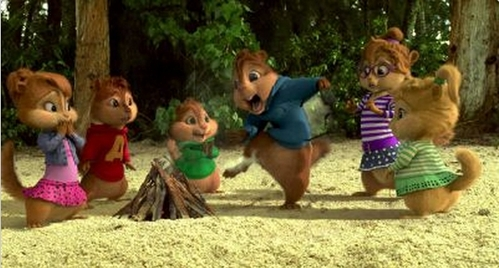 If you were stuck on an island with The Chipmunks and The Chipettes(like in Chipwrecked), what would you do to get yourself off the island?