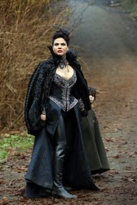 What are Regina's dresses called?