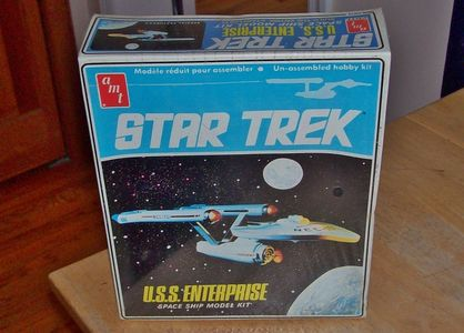 hi. does anyone want to buy a bintang trek model kit sealed in box never opened. 1986 amt/ertl u.s.s. enterprise.