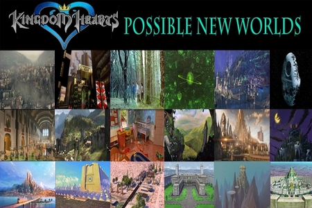 Which New Worlds would wewe like to see included to Kingdom Hearts?