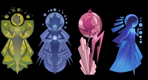 Am I the only one who thinks white diamond is actually the fusion between pink, blue and yellow diamond ? I mean ... JUST LOOK AT THEIR APPEARENCE ... it's just too similar to be just a coincidence