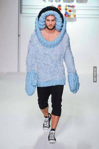 Crazy fashion show!