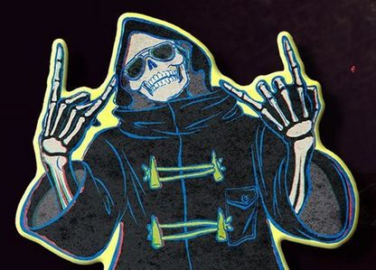 From TV-Videos Games: what's your favorito! version of the Grim Reaper/Death