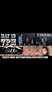 Holy crap! So my girlfriend Tarra Layne is opening for Katey Sagal at her Los Angeles 显示 on May 19th at The Canyon Club! Would anybody like to go?! Do 你 think some of the cast will be there?! I'm beyond stoked!!!