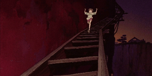 I don't know if te have noticed but... does anyone know why studio Ghibli characters tend to fall down the stairs so often???