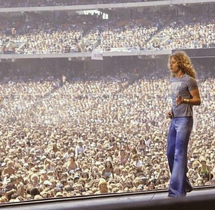 Does anybody know who  took this photo of Robert Plant at Day-on-the-Green, Oakland Coliseum in July 1977?