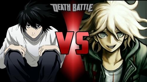 Who would win in the Death Battle: Nagito Komaeda vs. L Lawliet
