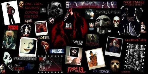 Tell me your 5 favorito! horror franchises