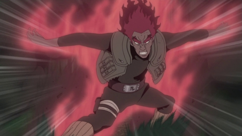 did guy sensei die after using the eight inner death gates against madara?