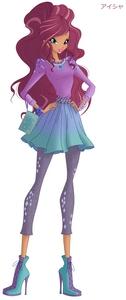 """Qual é o nome original da Aisha (também conhecida como Layla) em """"O Clube das Winx""""?"""