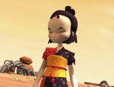 Is there a specific reason, why Yumi is after season 2 in Lyoko an ninja and not a Geisha like in S1?