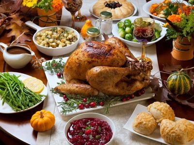 What do Ты usually eat for Thanksgiving? 🍗🥧
