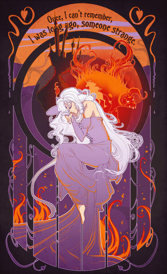 Lady Amalthea oleh szienna