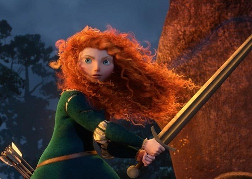 I am Merida, first born decendent of clan DunBroch, and I'll be shooting for my own hand!