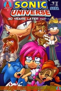 Who's that echidna girl at the سب, سب سے اوپر left corner? That's Lien-Da! She helped Shadow in Mobius 30 Years later