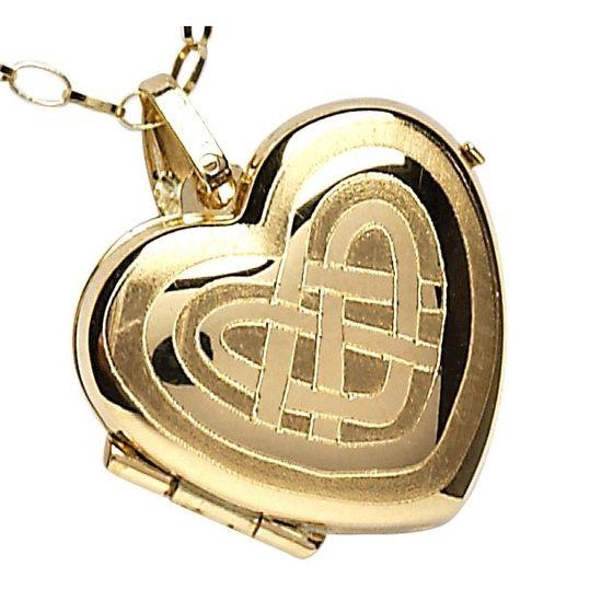 Look, it's her locket!
