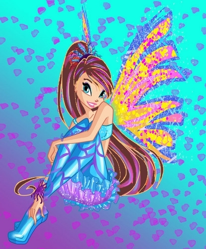 Jinny in her Sirenix (I know she looks like Bloom)