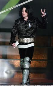 This is what Michael looked like at the awards.