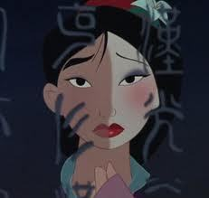 I must admit in this photo Mulan looks quite nice.