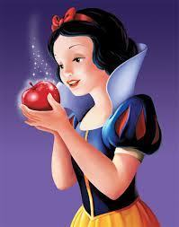 No! Don't eat that apple!
