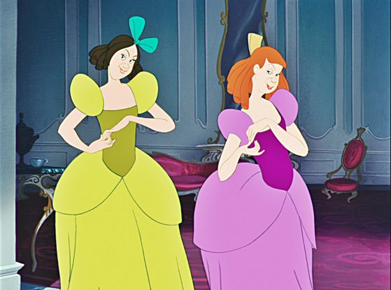 Drizella Tremaine and Anastasia Tremaine, Cinderella's two revolting stepsisters.