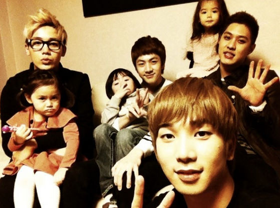 MBLAQ in Hello Baby...