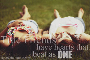We are true friends forever ♥