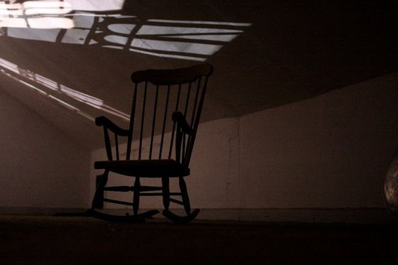 the old rocking chair.....