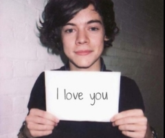 I Love you My HazzaStar and never forget it