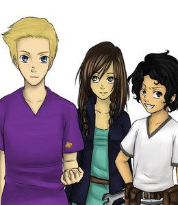 Jason, Piper, Leo